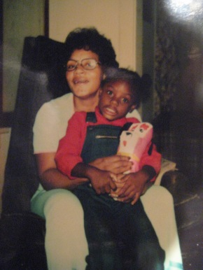 me and mom in 76