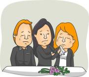 32749423-stock-vector-illustration-featuring-people-weeping-at-a-funeral-service