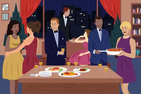 42155123-stock-vector-a-vector-illustration-of-people-having-dinner-party-together